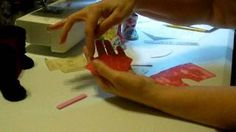 How to make doll boots part 1 Diane Morello - YouTube