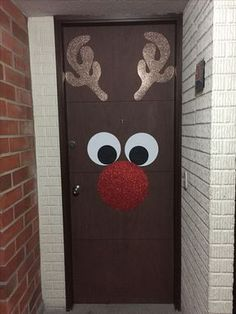 50 Christmas Door Decorations for Work to help you Ace the Door Decorating Contest - Hike n Dip Looking for quick Christmas Door Decoration Ideas? Here are the best Christmas Door Decorations for work to ace the Christmas door decorating contest.