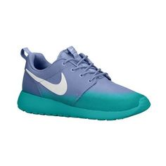 Nike Roshe One - Women's - Running - Shoes - Iron Green/Cargo... via Polyvore