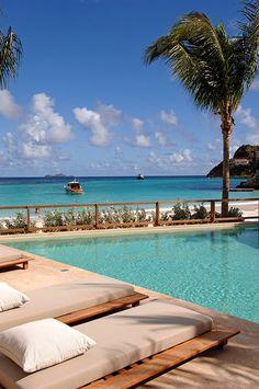 Eden Rock Resort - island of St. Bart's.  ASPEN CREEK TRAVEL - karen@aspencreektravel.com