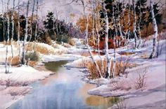 """Winter Reflections"" by Carl Purcell."