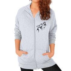 Wolf Women's California Fleece Zip Hoodie