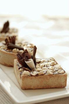 chOcOlate hazelnut tart  http://www.flickr.com/photos/desserts_by_khadidja/