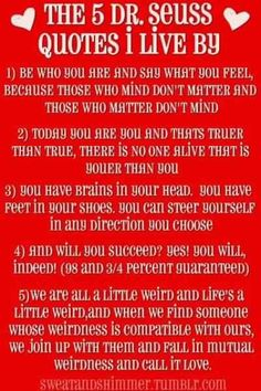 5 Dr Seuss Quotes To Live By