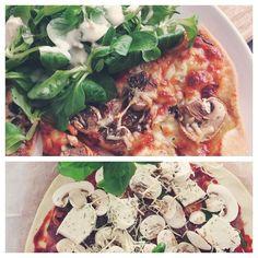 TGIF  It's time for homemade pizza!  C'est le week-end rien de tel qu'une bonne pizza maison et une séance ciné après !  #yummyfood #pizza #tgif #instafood #instagood #weekend #summer #cheatmeal #ann #cooking #good