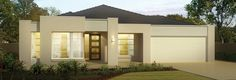 JG King Home Designs: The Chevalier Centro Facade. Visit www.localbuilders.com.au/builders_victoria.htm to find your ideal home design in Victoria