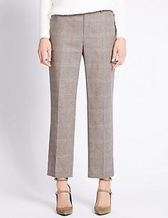 T Peg Slim Leg Trousers #trousers #leggings #skinny #women #woman #fashion #style #marksandspencer #kadın #pantolon #mscollection #autograph #peruna #limitededition #wideleg #slimleg #straightleg