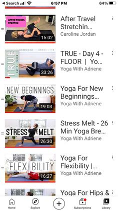 Yoga With Adriene True Day 16 : adriene, Carolyn, Brendel, (cbrendel), Profile, Pinterest