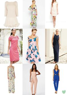 2015 Spring and Summer #Wedding Guest Outfits Mood Board from The Wedding Community
