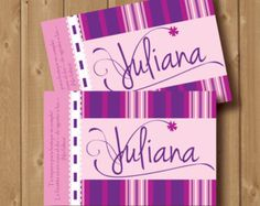 Violetta inspired birthday party invitation. Printable . It is perfect for you little girls birthday party.