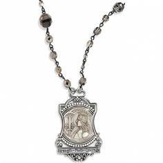 Devotion Joan Of Arc Long Necklace