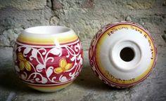 Portacandele personalizzati in ceramica #bomboniere #maiolica #ceramics