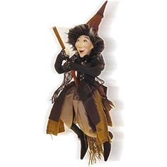 Witches of Pendle - Rebecca Witch Flying (Brown) 32cm Wit... https://www.amazon.com/dp/B01EYKVR9E/ref=cm_sw_r_pi_dp_x_g5ttzbK6RG0H7