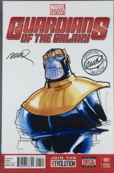 Thanos by Humberto Ramos