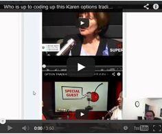 nice Walkthru of Karen Super Trader strategyy with CSharp Postgres SQL IQFeed and Interactive Brokers