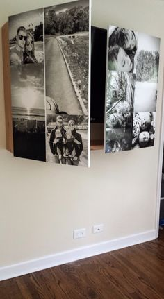DIY: Wall mounted TV cabinet – The Indigo Hen Homestead Fernseher Diy Wand, Tv Cover Up, Tv Escondida, Deco Tv, Tv Wall Cabinets, Framed Tv, Ideas Hogar, Wall Mounted Tv, Diy Tv Wall Mount