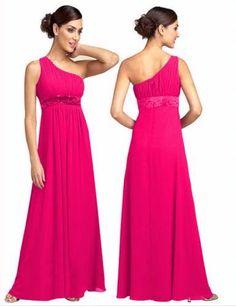 One Shoulder Bridesmaid dress Short Lace Bridesmaid Dresses, Designer Bridesmaid Dresses, Prom Dresses, Coral Bridesmaids, Concert Dresses, Long Dresses, Summer Dresses, Beaded Chiffon, Chiffon Gown