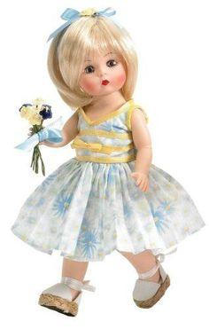 "Madame Alexander MOTHER'S DAY Doll 45220 8"" Blonde / Blue Eyes NEW in Box 2006 #MadameAlexander"