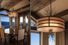 Hammerton Lighting for a Craftsman Spaces with a Custom Lighting Fixtures and Beaver Creek Residence by Hammerton Lighting