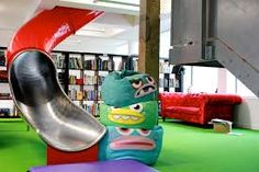 Mind Candy offices on 15 Bonhill St, nice slide!