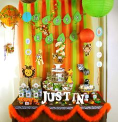 SAFARI ZOO: Justin's 3rd Birthday! | CatchMyParty.com