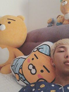 Rap Monster ❤ [Bangtan Trans Tweet] 안녕 친구들 \ Hello friends #BTS #방탄소년단
