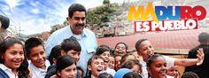 Maduro y los Niños de la Patria