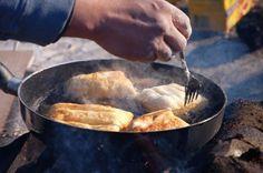 Nazko 'Fry Bannock Dessert' (Native American Recipe)