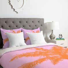 Deb Haugen Palm Duvet Cover Set