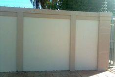 Plastered Vibracrete, Precast walling plaster