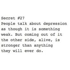 hitting rock bottom and picking yourself up, becoming stronger than ever is the most amazing feeling-only defined as a strength you never knew existed. Everything happens for a reason