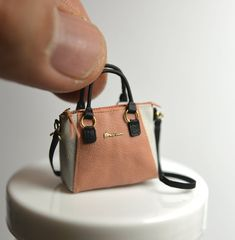 Incredible Miniature Handbag; always quality work from NUNU's House!!