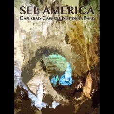 Carlsbad Caverns National Park by Zack Frank  #SeeAmerica