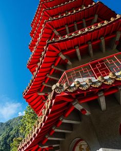 Look out for our March issue, in shops next week! #NGTUK photographer @duncanlongden.photography toured #Taiwan on a scooter and features in our In Pictures piece this issue. This is a pagoda at Xiande Temple, situated in Taroko Gorge National Park #travelphotography #travelgram #instatravel