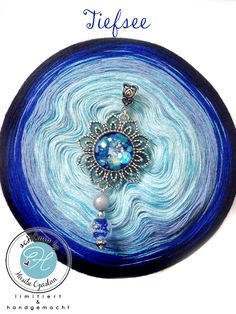 Types Of Yarn, Decorative Bowls, Knitting, Crafts, Blue, Crochet, Strands, Yarns, Deep Sea