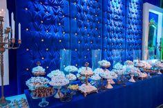Decoração clássica em azul