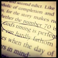 God timing is perfect