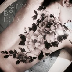 Dodie 2015 - Tattoo by Dodie Black Tattoos, Body Art Tattoos, Cool Tattoos, Tatoos, Dodie Tattoo, Back Tats, Mandala Tattoo, Make Your Mark, Flower Tattoos