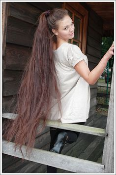 My long Ponytail feat. Monika