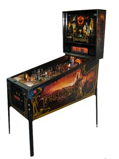 #2 of my top 5 Pinball Machines.  Lord of the Rings.  Fun table!