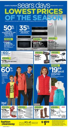 Sears Weekly Ad October 22 - 31, 2015 - http://www.olcatalog.com/sports-toys/sears-weekly-ad.html
