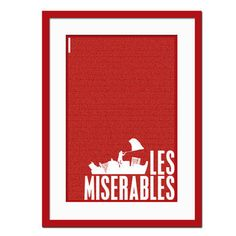 les miserables screen print - Google Search