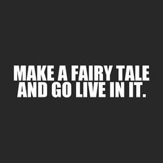 let's make a fairytale