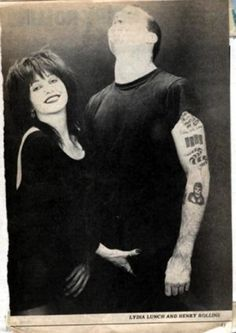 Lydia Lunch + Henry Rollins
