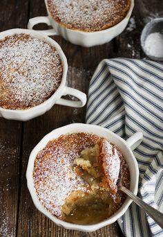 Rhubarb Pudding Cakes