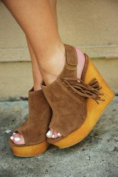 Can't Fight It Wedges: Mocha #shophopes