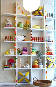 Purl Soho - New York City - a place to see for crafts and yarn addicts