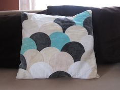 Cushion with ducktails