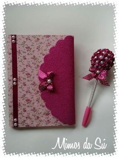 These mini school supplies are adorable! Notebook Diy, Notebook Cover Design, Notebook Covers, Book Crafts, Diy And Crafts, Crafts For Kids, Arts And Crafts, Paper Crafts, File Decoration Ideas