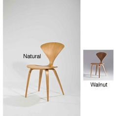 @Overstock.com - Walnut Wood Dining Chairs (Set of 2) - Add a sleek and trendy retro vibe with these contemporary wood dining chairs. This pair of chairs features an aesthetically pleasing curvy back and is crafted from solid walnut for long-lasting good looks and performance in your home.  http://www.overstock.com/Home-Garden/Walnut-Wood-Dining-Chairs-Set-of-2/5217660/product.html?CID=214117 $269.99